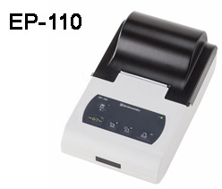 EP-110 enhanced Statistic dot matrix printer with internal clock and RS-232 interface and display