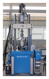 Vertical torsion dynamic testing machines LABTEST