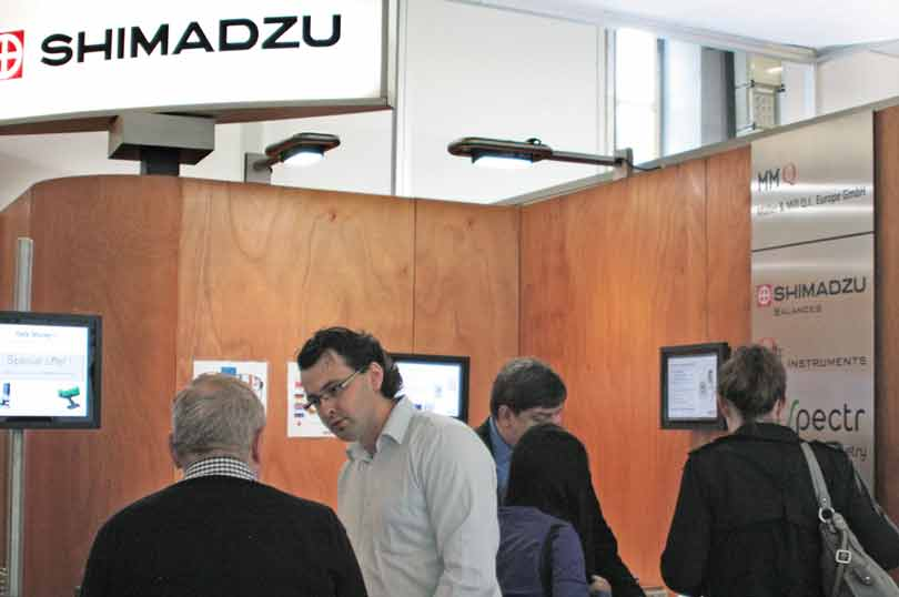 MMQ booth at Achema-2015